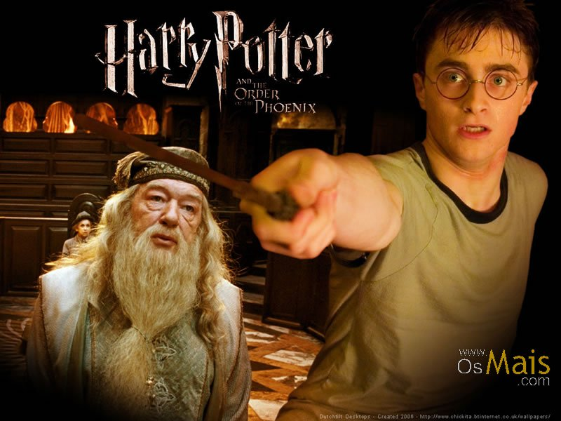 Imagem Harry Potter 5 - Harry e Dumbledor