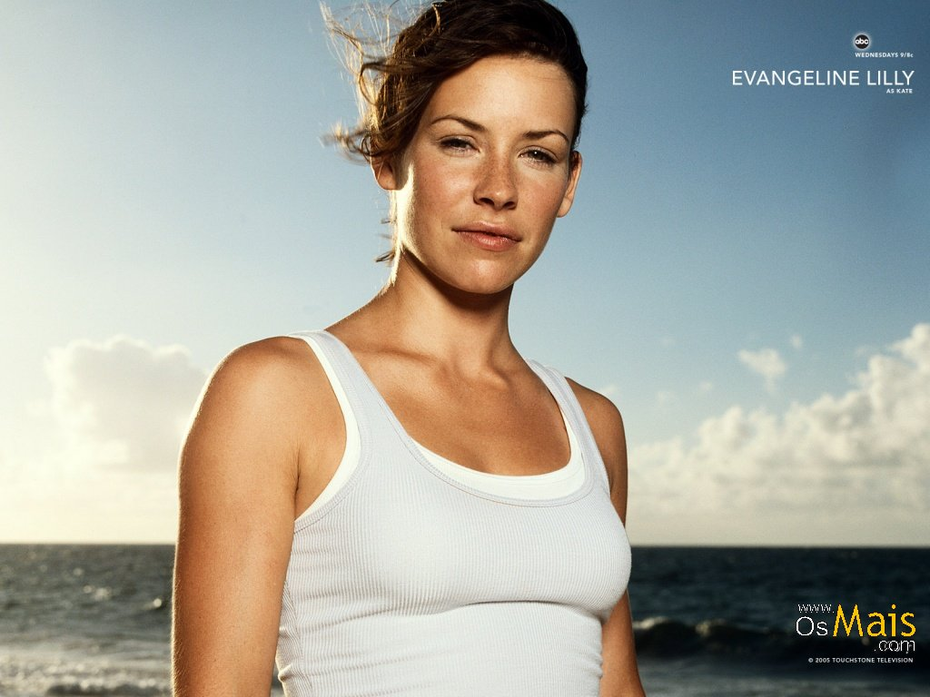 Papel de Parede Evangeline Lilly - Kate - Lost