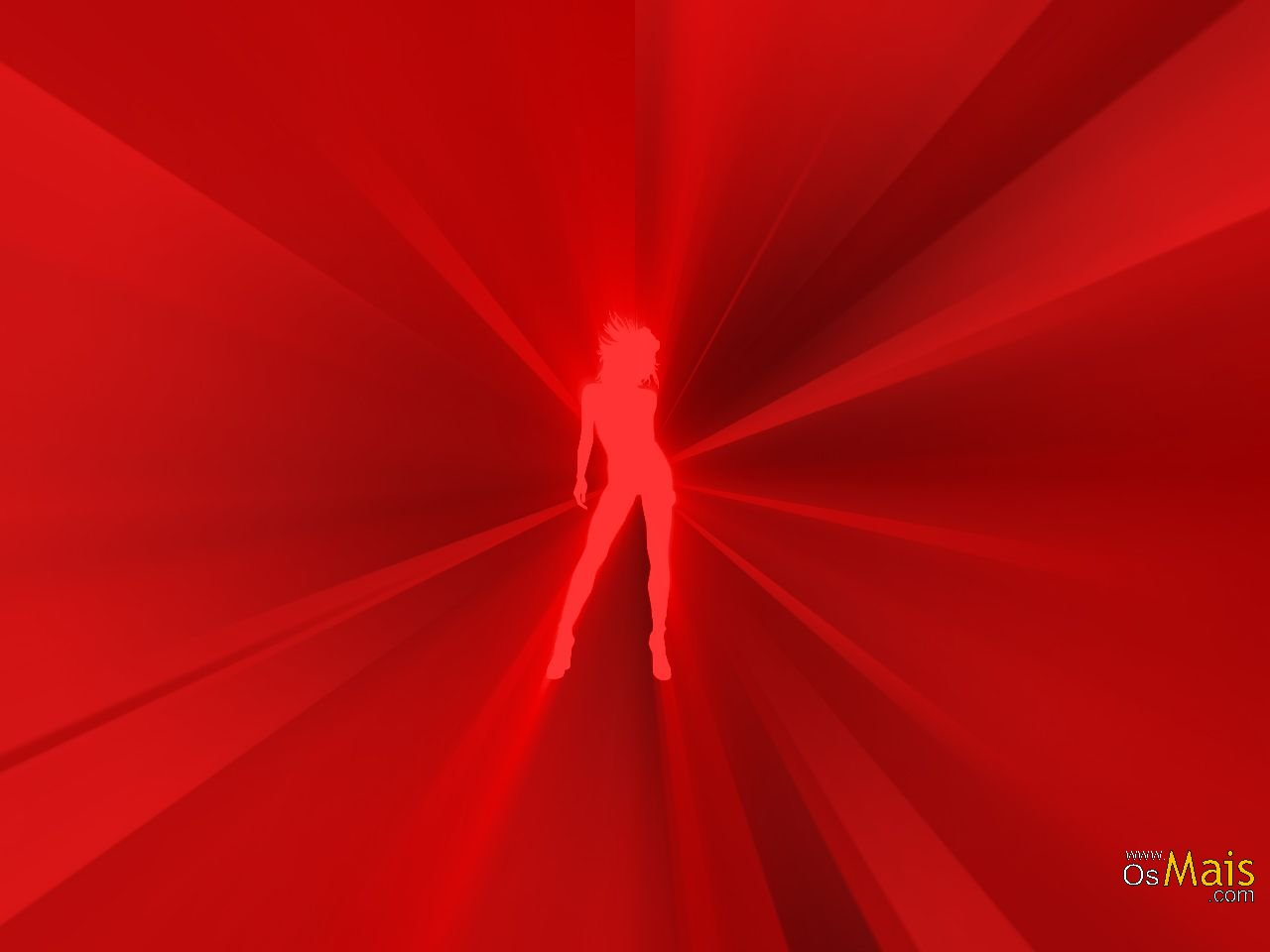 Papel de Parede Red Woman