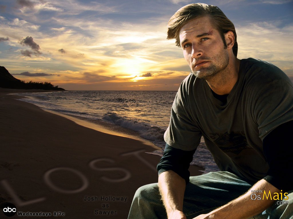 Imagem Lost - Josh Holloway - Sawyer