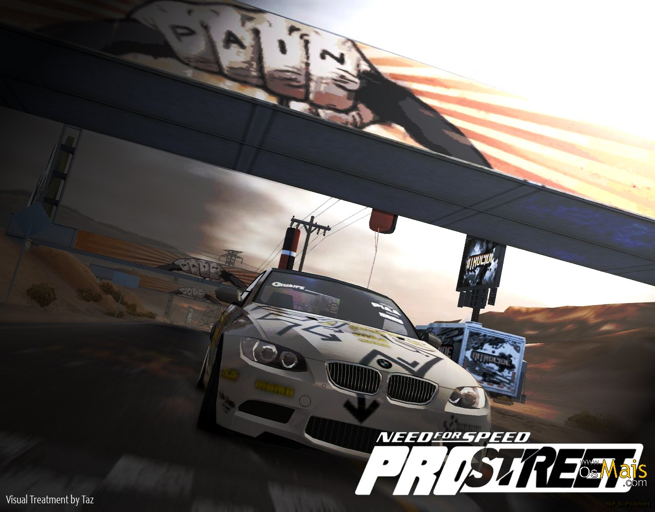 Papel de Parede Need For Speed Pro Street