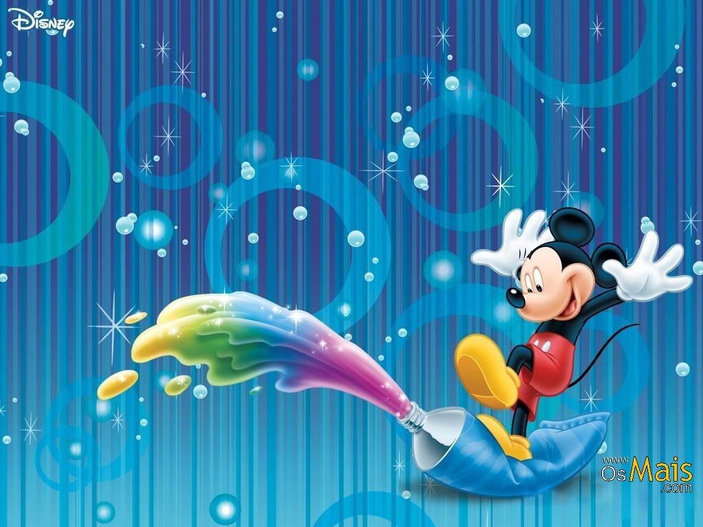 Imagem Mickey Mouse - Colorindo