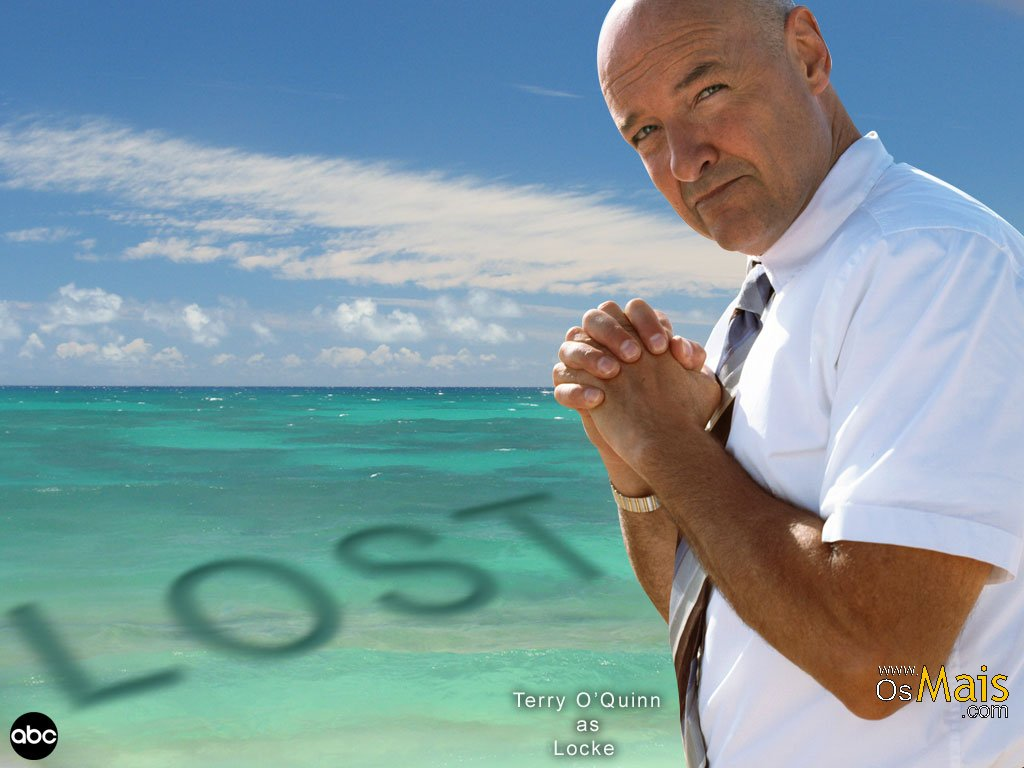 Papel de Parede Lost - Terry O'Quinn - Locke