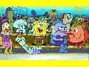 Turma do Bob Esponja wallpaper