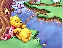 Pooh Pescando wallpaper