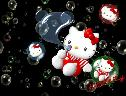 Hello Kitty - Bolhas wallpaper