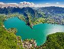 Lago Verde Lindo wallpaper