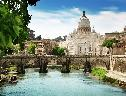 Ponte de St Angelo Roma wallpaper